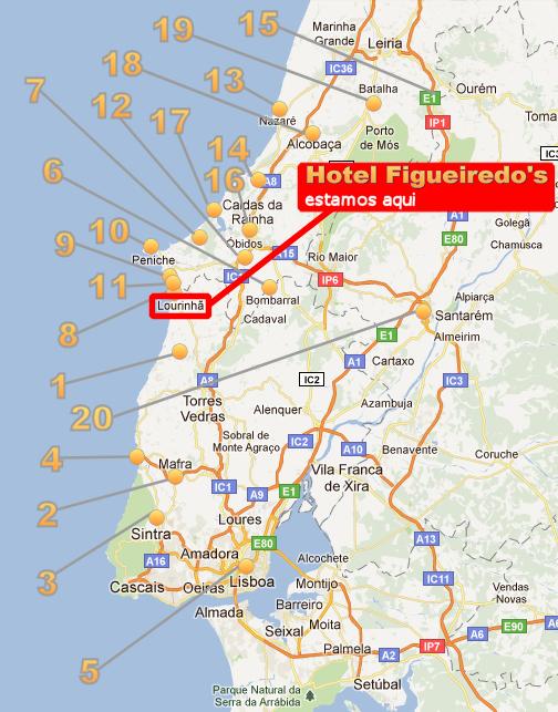 Hotel Figueiredo S Quartos Duplos E Singles Em Lourinha Zona